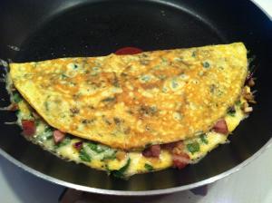Spinach & Feta Omelete