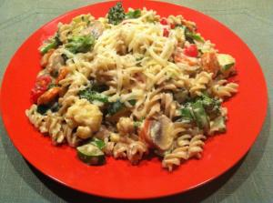 Vegetables & Pasta