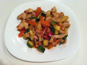 Chicken & Cashew Stir-fry