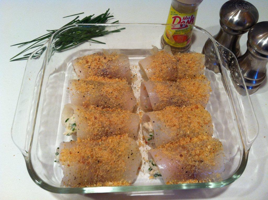 Stuffed sole fillets megarecipes for Stuffed fish with crab meat
