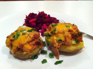 A Baked Stuffed Potatoes